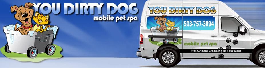 You Dirty Dog PDX Logo